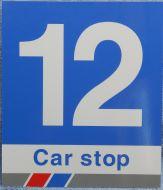 Car Stop Sign