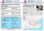 Network SouthEast Launch Reproduction Booklet